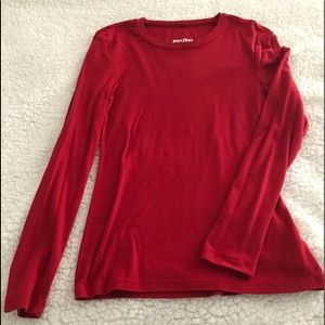 Old navy red long sleeve | S